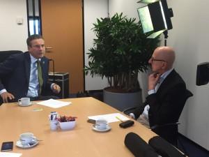 21 januari 2016: Maxime Verhagen (Bouwend Nederland) wordt geïnterviewd door Tom de Hoog voor een artikel in Building Holland magazine en online op platform www.duurzaamgebouwd.nl