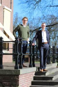 Tom de Hoog | CONTEXT interviewde Hans Jacobs (l) en Bernard Brons (r) over de Duurzame Scholen-lening