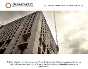 Website Caris & Reiner Installatietechniek bv Sittard