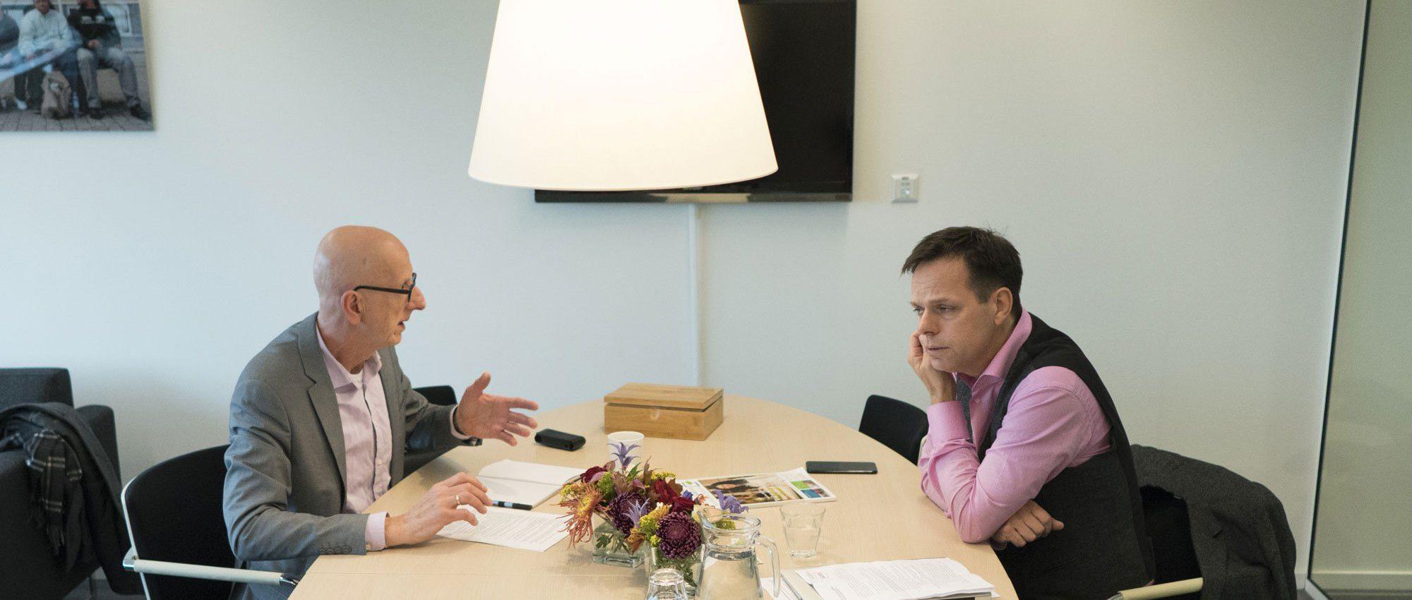 Tom de Hoog   CONTEXT interviewt Marnix Norder van Aedes (foto: Robert Tjalondo)